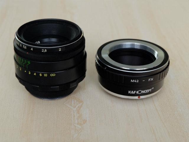 中古レンズをアダプターで取り付け!オールドレンズをカメラに付ける方法